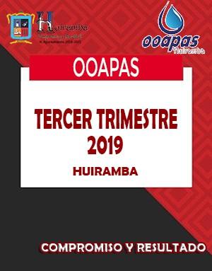 3ER TRIMESTRE 2019