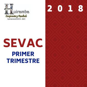 Primer Trimestre 2018 Sevac